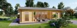 Casa in legno coibentata MILA 56 mq visualization 8
