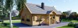 Casa in legno coibentata EMMA 83 mq visualization 1