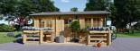 Casa in legno ALTURA (44 mm) 31 mq + terrazza 9.2 mq  visualization 2