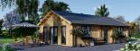 Casa in legno coibentata GRETA 54 mq visualization 4