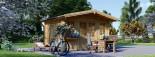 Casetta da giardino OLYMP (44 mm) 4x3 m 12 mq visualization 5