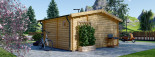 Casa in legno NINA due stanze (44 mm) 6x6 m 36 mq visualization 5
