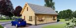 Casa in legno EMMA (66 mm) 83 mq visualization 3