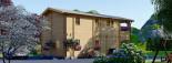 Casa in legno TOULOUSE (66 mm) 100 mq + 20 mq di porticato visualization 5