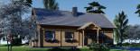 Casa in legno coibentata VERA 132 mq + terrazza 13.5 mq  visualization 7