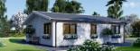 Casa in legno coibentata ALICE 72 mq visualization 3