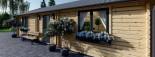 Casa in legno coibentata GRETA 54 mq visualization 9