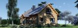 Casa in legno coibentata VERA 132 mq + terrazza 13.5 mq  visualization 5