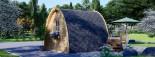 Casetta da giardino BRETA (28 mm) 3x3 m 9 mq visualization 3