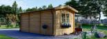Casetta in legno coibentata OAK 6x3 m 18 mq visualization 4