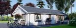 Casa in legno coibentata ANICA 71 mq visualization 8