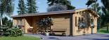 Casa in legno coibentata UZES 70 mq visualization 4