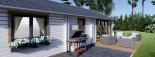 Casa in legno coibentata ANICA 71 mq visualization 9