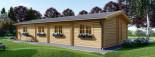 Casa in legno coibentata BRIGHTON 90 mq visualization 6