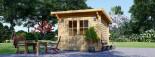 Casetta da giardino MALTA (34 mm) 3x3 m 9 mq visualization 2