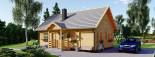 Casa in legno coibentata EMMA 83 mq visualization 4