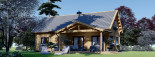 Casa in legno coibentata VERA 132 mq + terrazza 13.5 mq  visualization 2
