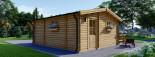 Casa in legno ALTURA (44 mm) 31 mq + terrazza 9.2 mq  visualization 6