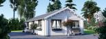 Casa in legno coibentata ANICA 71 mq visualization 7