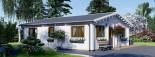 Casa in legno coibentata ALICE 72 mq visualization 7