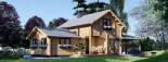 Casa in legno HOLLAND (66 mm) 113 mq + 13.25 di porticato visualization 2
