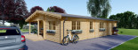 Casa in legno coibentata LINDA 78 mq + terrazza 38 mq  visualization 6