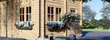 Casa in legno AVIGNON (44 mm) 20 mq + 16 mq di mezzanino visualization 7