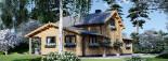 Casa in legno HOLLAND (66 mm) 113 mq + 13.25 di porticato visualization 5