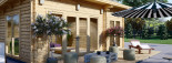 Casa in legno MAJA (66 mm) 7.5x4 m 30 mq visualization 8