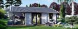 Casa in legno coibentata ADELE 68 mq visualization 3
