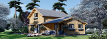 Casa in legno coibentata HOLLAND 113 mq + 13.25 di porticato visualization 4
