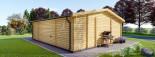 Casa in legno MILA (44 mm) 56 mq visualization 5