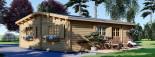 Casa in legno coibentata UZES 70 mq visualization 5