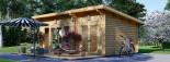 Casa in legno MAJA (66 mm) 7.5x4 m 30 mq visualization 4