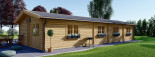 Casa in legno BRIGHTON (66 mm) 90 mq visualization 5