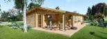 Casa in legno coibentata LINDA 78 mq + terrazza 38 mq  visualization 4