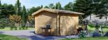 Casetta da giardino OLYMP (44 mm) 4x3 m 12 mq visualization 4