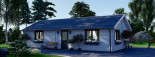 Casa in legno coibentata ANICA 71 mq visualization 6