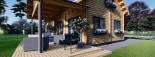 Casa in legno coibentata VERA 132 mq + terrazza 13.5 mq  visualization 9