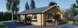 Casa in legno coibentata GRETA 54 mq visualization 1