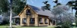 Casa in legno coibentata VERA 132 mq + terrazza 13.5 mq  visualization 8