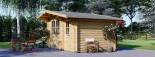Casetta da giardino BENINGTON (34 mm) 4.5x3 m 13.5 mq visualization 5