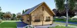 Casa in legno EMMA (66 mm) 83 mq visualization 2
