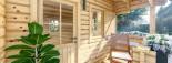Casa in legno coibentata NANTES 24 mq + 3.45 mq di porticato visualization 8