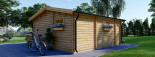 Casa in legno ALTURA (44 mm) 31 mq + terrazza 9.2 mq  visualization 5