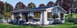 Casa in legno coibentata ALICE 72 mq visualization 5