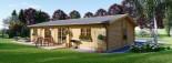 Casa in legno coibentata LIMOGES 103 mq visualization 4