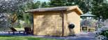 Casetta da giardino RENNES (34 mm) 4x3 m 12 mq senza pavimento visualization 4