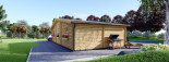 Casa in legno FILL (44 mm) 60 mq visualization 5