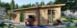 Casa in legno MAJA (66 mm) 7.5x4 m 30 mq visualization 6